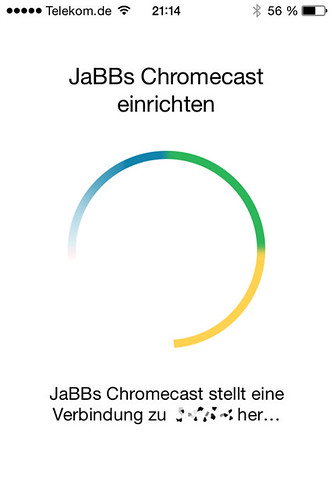 18 - Google Chromecast - einrichten auf dem iPhone