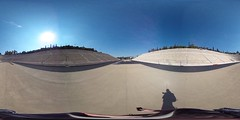 360 degree view from the center of The Panathenaic Stadium | #TBEX