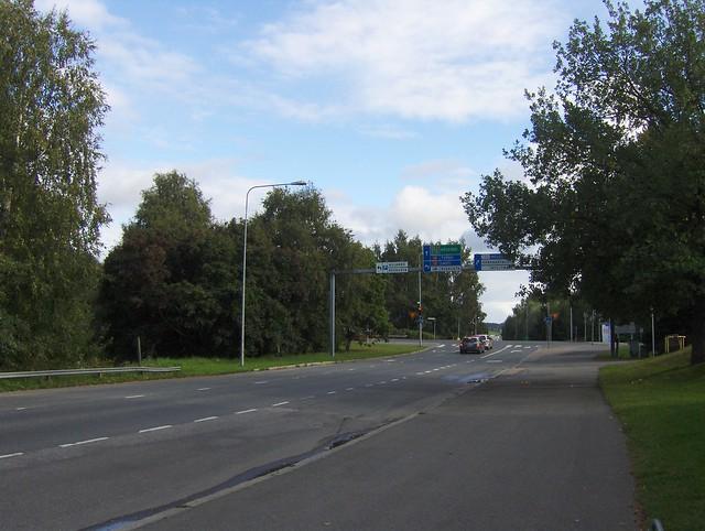 Hämeenlinnan moottoritiekate ja Goodman-kauppakeskus: Työmaan lähtötilanne 3.9.2011 - kuva 8