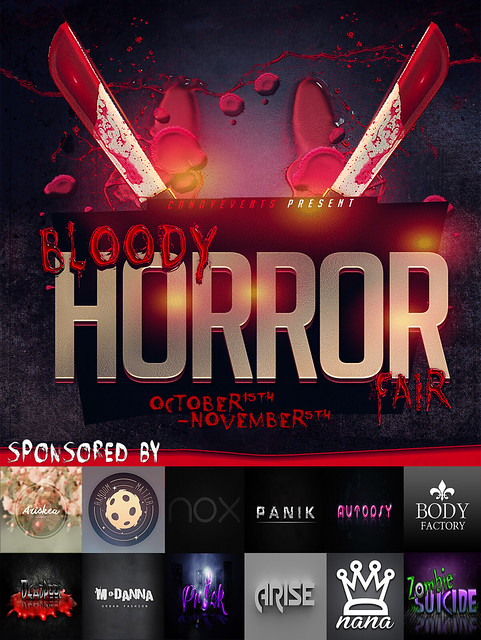 Bloody Horror Fair Poster AD