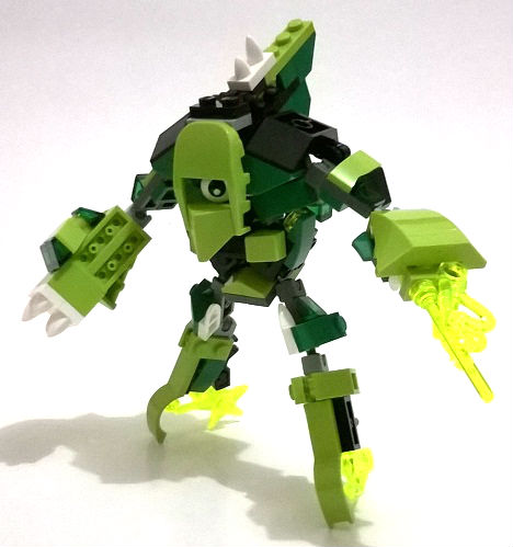 Moc Mixel Mobile Assault Glorp Corp Max Lego Action Figures