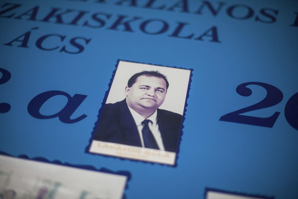 Lakatos Béla, Ács polgármestere