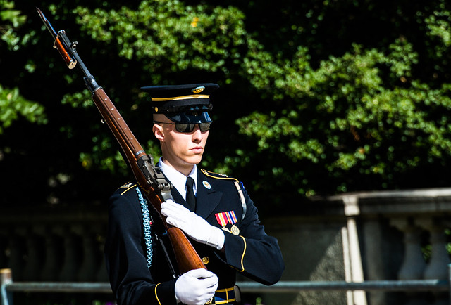 Tomb of Unknown Soldier Sentry