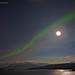 Aurora over Skjervøya by mansachs