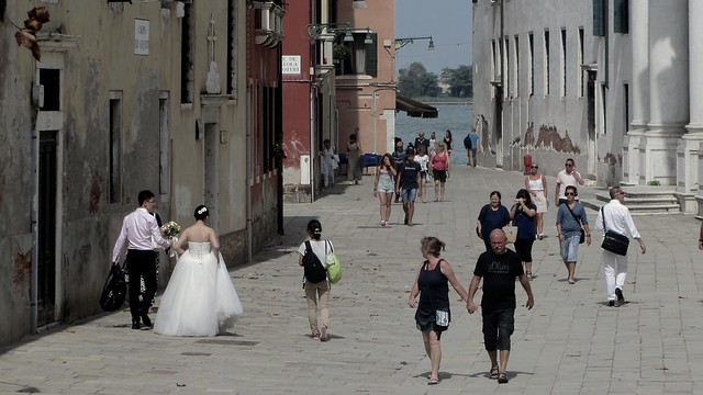 Venice Wedding Couple