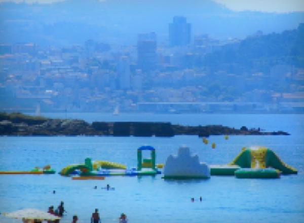 Vista de Vigo desde lejos