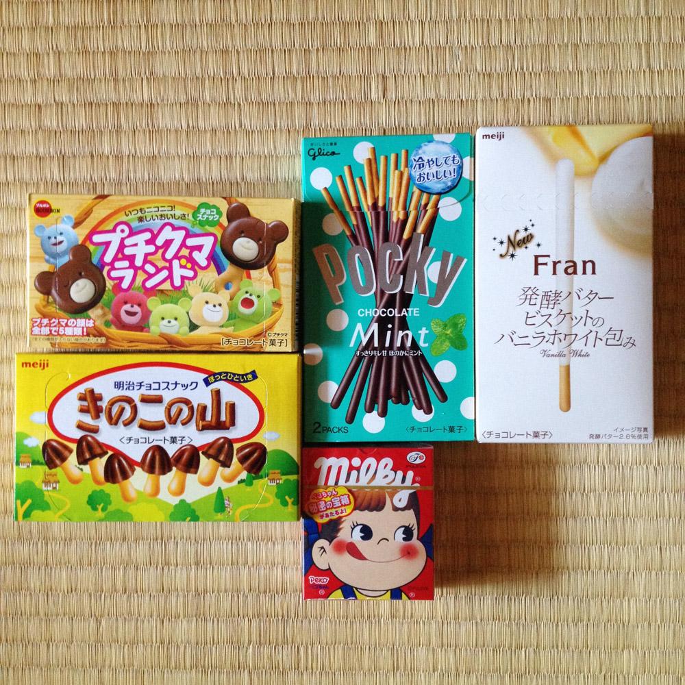 Japanse snacks