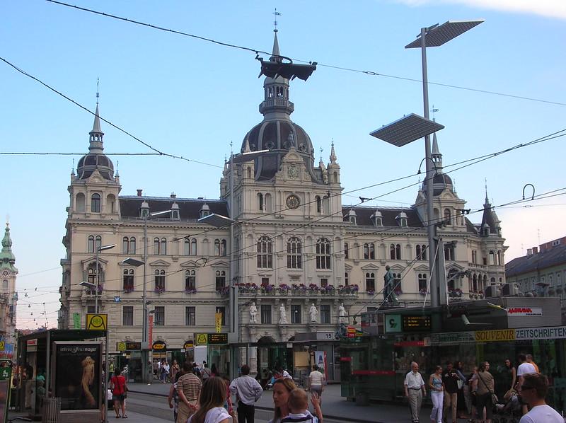 Ayuntamiento, Graz, Austria
