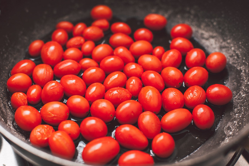 Tilápia com Tomatinhos