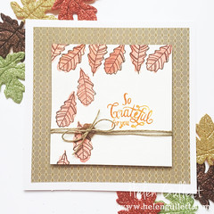 Watercolor Fall Card 2