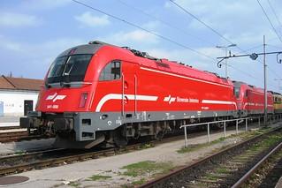 541-008 Slovenian Railways Slovenske železnice, SŽ class 541 Ljubljana, Slovenia 18.03.07