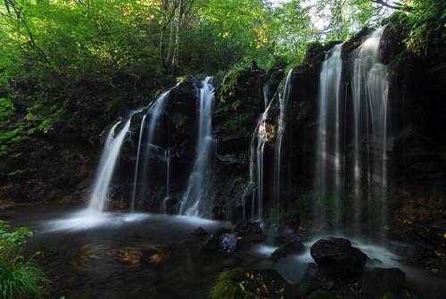 hyogo 兵庫 shinonsen 新温泉 猿壺の滝 sarubofalls