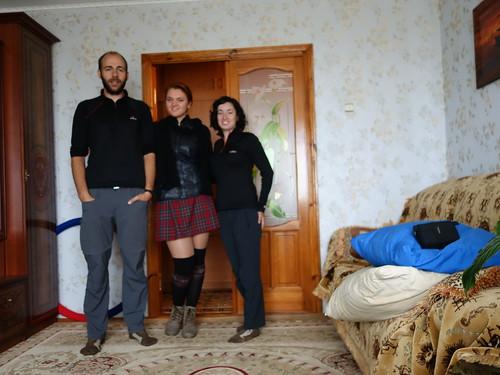 La photo est floue mais on voulait quand même vous présenter Elena, la couchsurfeuse la plus adorable que l'on puisse imaginer!
