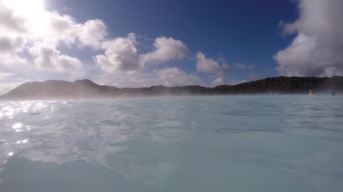 "The famous ""Blue Lagoon"""
