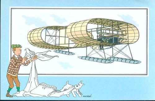 16 aereo a galleggianti Voisin-Blériot 1906 Francia