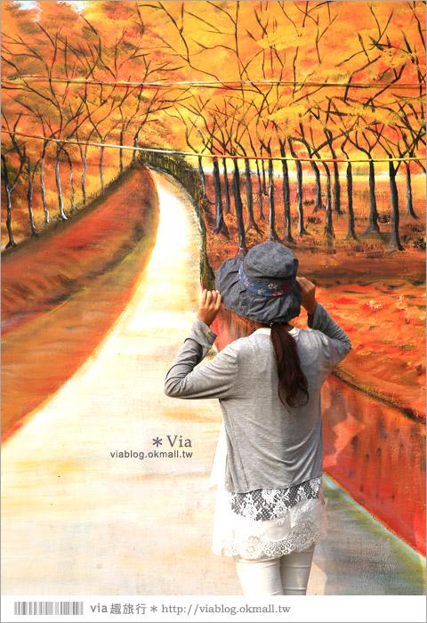 【關廟彩繪村】新光里彩繪村~在北寮老街裡散步‧遇見全台最藝術風味的彩繪村7