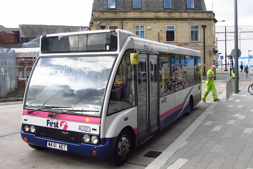 First Greater Manchester Optare Solo MA51 AET, Rochdale Interchange