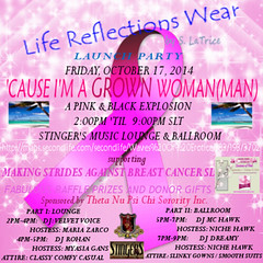 LIFE REFLECTIONS WEAR LAUNCH PARTY 10-17