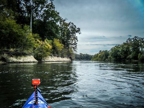 Savannah River from Stokes Bluff with LCU Nov 7, 2014, 4-18 PM Nov 8, 2014, 10-15 AM