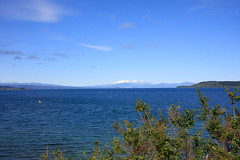 Tongariro NP from Lake Taupo