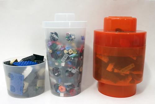 LEGO Retro Storage Brick & T-Shirt Combo