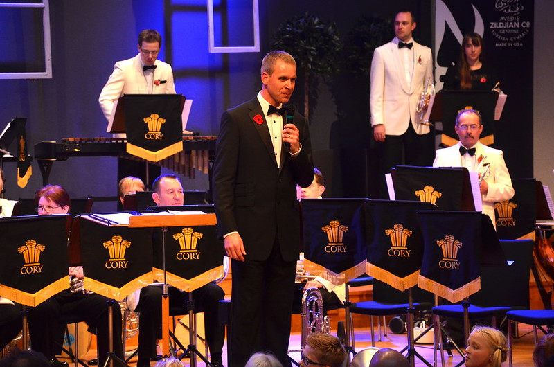 Philip Harper - både dirigent och programvärd