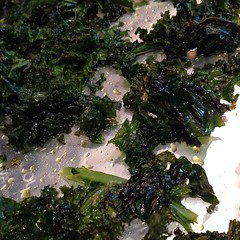 Mmmmmm kale chips. I love this stuff!