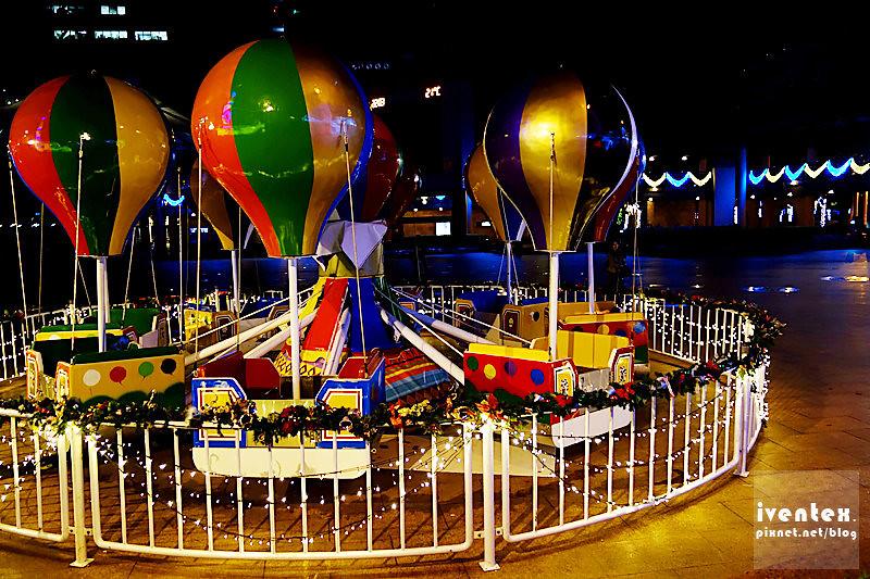 33刀口力2014新北市歡樂耶誕城新北市市民廣場幸福熱氣球