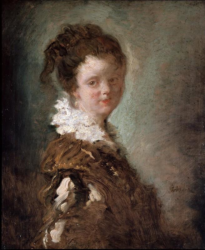 Jean-Honoré Fragonard - Young Woman (c.1769)