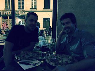 Diner avec Julien au restaurant Lucky Luciano
