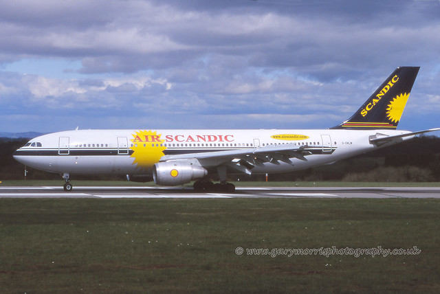 G-SWJW Airbus A300