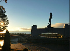 The Sleeping Giant and Terry Fox Memorial