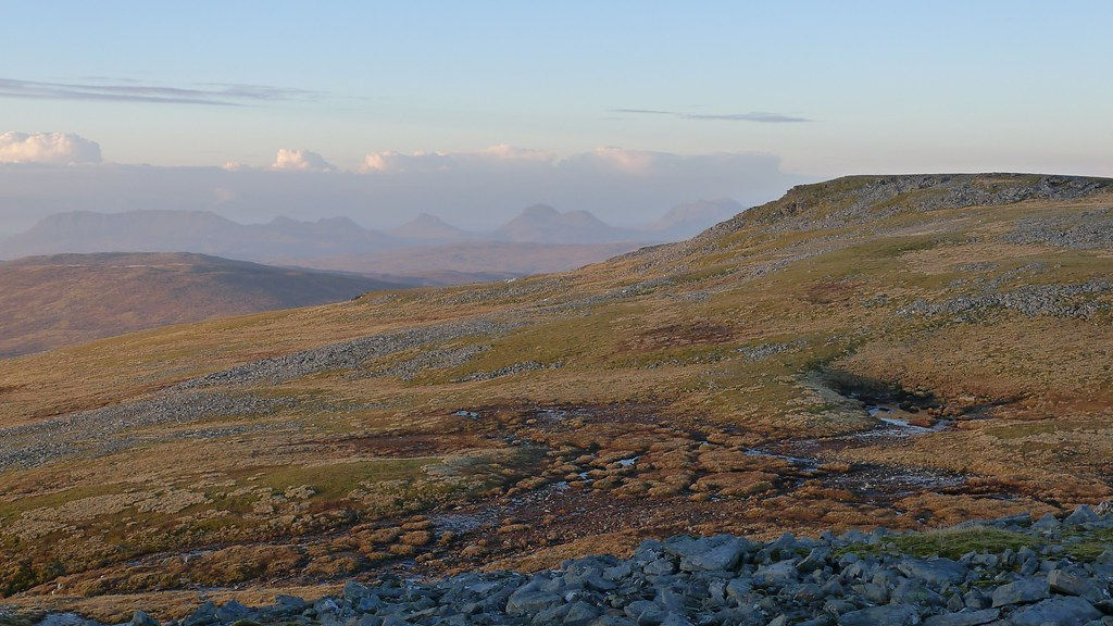 Assynt and the North top of Eididh nan Clach Geala