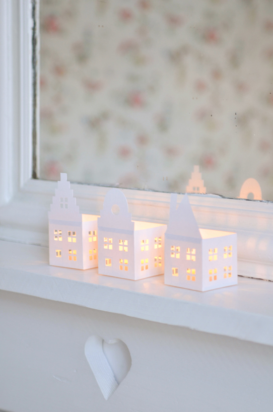 Paper Candle Houses - Yvestown