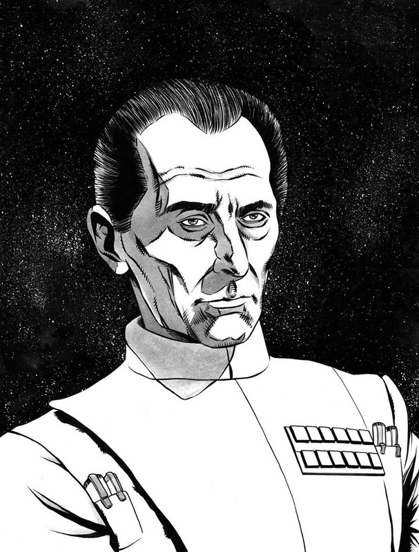 Grand Moff Tarkin by krisjustice