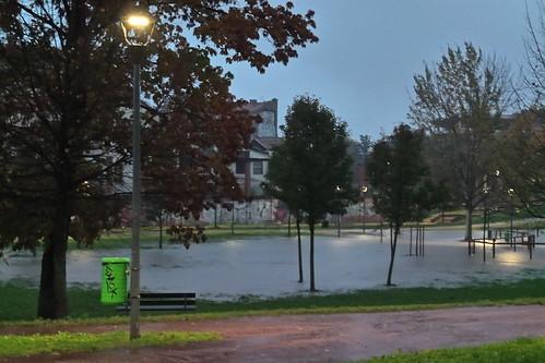 Il parco della Torre diventa #lago