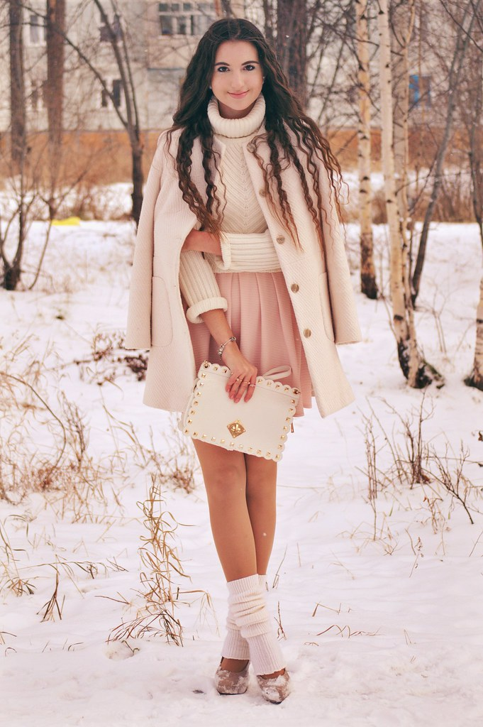 as seen on me, fashion blogger, forever new, frozen, knits, look of the day, outfit, russian fashion, russian fashion blogger, style, topshop, vintage, winter, zara,