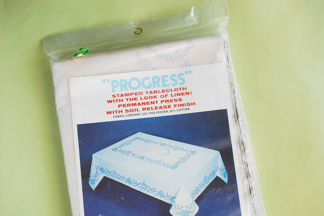Progress Tablecloth