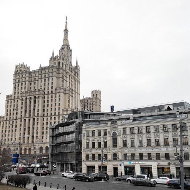 Эпохи и стили. #Москва #архитектура