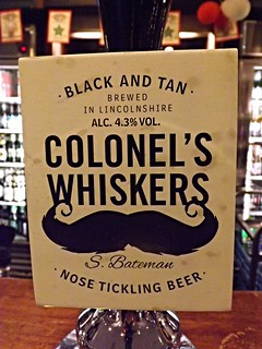 Black and Tan, Colonel's Whiskers, England