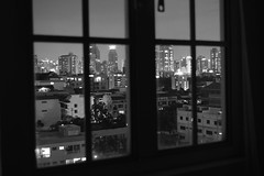 Outside My Window (B&W)
