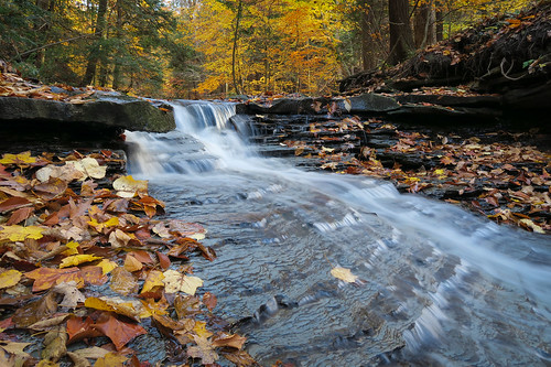 autumn ohio nature leaves waterfall falls rjvtog