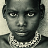 Ethiopian tribe, Hamer boy