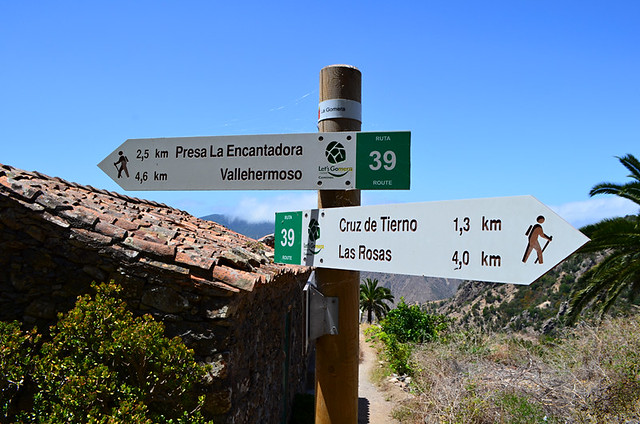 Signposts, La Gomera, Canary Islands