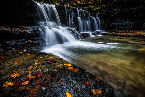 ny nature landscape waterfall nikon falls glen syracuse fillmore