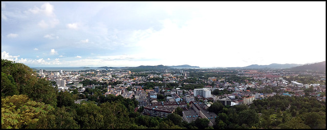 View from Rang Hill, Phuket Town