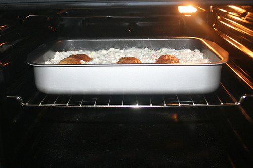 43 - Weiter im Ofen backen / Continue baking in oven