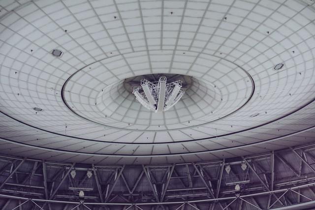 京瓷大阪巨蛋屋頂