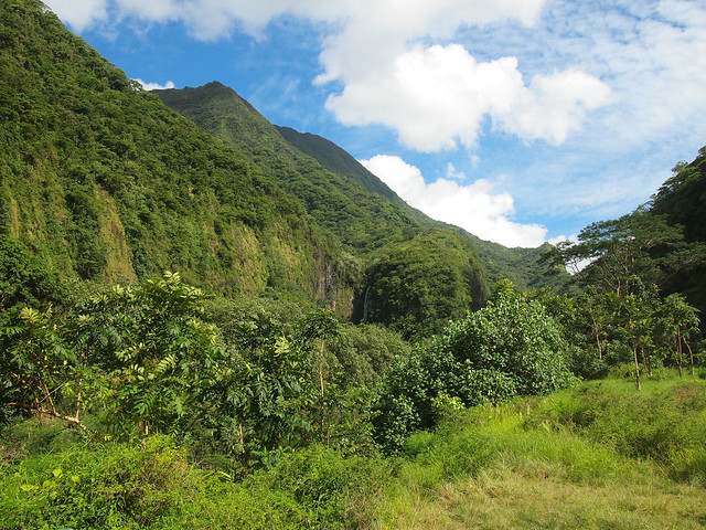 Tahiti mountains