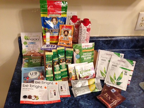 #RapOnTheRun: Vegan Cuts Athlete Box Review Items